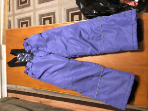 Purple snow pants Size 8   $5.00