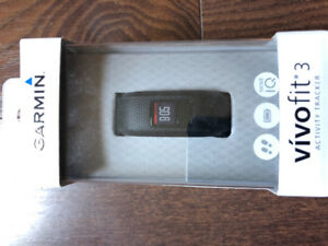 Garmin Vivo Fit 3 Activity Tracker- perfect condition.