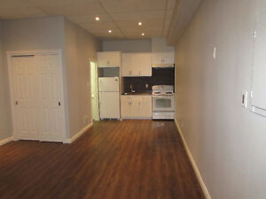 Bachelor apartment 5 min walk to Woodbine station.