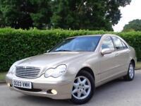 Mercedes-Benz C180 Kompressor 1.8 AUTO Elegance SE**LOW MILEAGE* FSH* 2 KEYS*