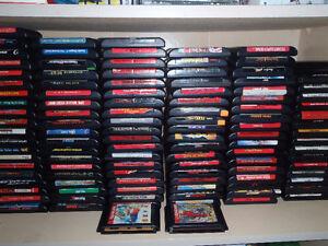214 sega genesis games and 77 sega cd games,32x,game gear !!
