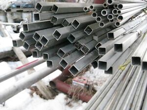 "3/4"" x 3/4"" Square Stainless Steel Tube  20' lengths"