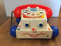 Vintage Fisher Price Chatter Telephone #747