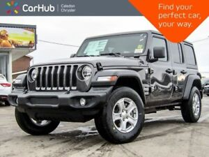 2019 Jeep WRANGLER UNLIMITED New Car Sport S|4x4|Dual Top|Backup