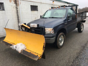For sale 2007 ford f 350 with plow good work truck
