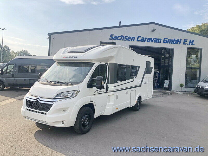 Adria Coral 670 SL ALL-IN MJ 2021  *attr.Zubehör