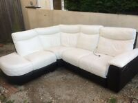 DFS electric recliner corner sofa in excellent condition. Possible delivery