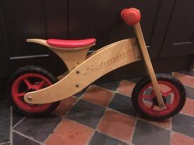 Wooden Balance Bike by Schwinn