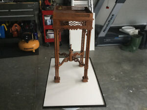 Asian style plant stand