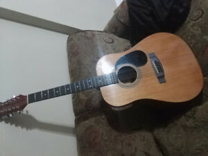 Jasmine By Takamine 12 String Acoustic Guitar S-312