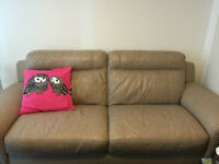 Like New Leather Sofa