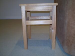 """Side Table 12"""" x 12"""" x 18 High"""