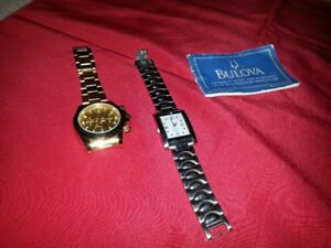Unisex Bulova Watch W/Deluxe Band; Beautiful