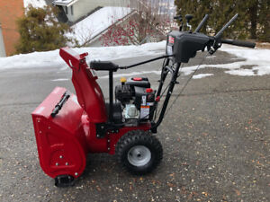 """""""USED ONCE"""" 24"""" Craftsman 2-Stage Snowblower"""