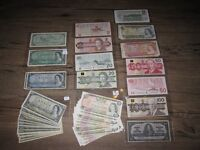 Giant Lot of $1,000 face value Canada Banknotes 1937-1980s