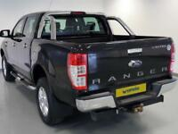 2014 Ford Ranger Pick Up Double Cab Limited 2.2 TDCi 150 4WD Diesel black Manual
