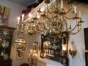 Large selection of antique lamps and light fixtures Kitchener / Waterloo Kitchener Area image 5