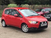 2009 Mitsubishi Colt 1.3 Clear Tec 5 Door Red only 50,988 Miles FSH SUPERB!!!!!