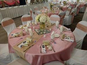 Chair Covers, Linens, & Decor for Weddings/Events Cambridge Kitchener Area image 4