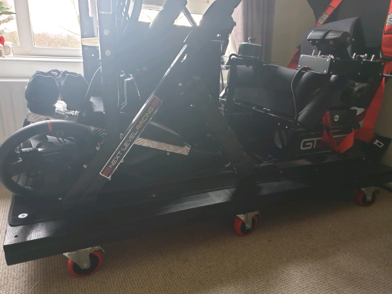 Next Level GT Ultimate v2 Racing Cockpit With Next Level Add-ons ONLY | in  Maidstone, Kent | Gumtree