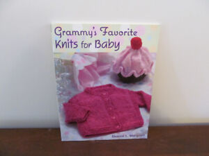 """Knitting """"Grammy's Favorite Knits for Baby"""" Book No 25"""