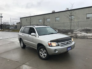 2005 Toyota Highlander  4WD,Automatic, 3 Year warranty available