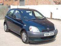 2001 Toyota Yaris 1.0 16v VVTi 5dr S***BARGAIN OF THE WEEK**