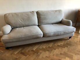 3 seater wool sofa