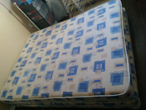 Queen box spring and mattress for sale