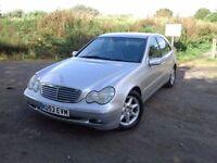 2003 Mercedes-Benz C Class 2.1 C220 CDI Elegance SE 4dr