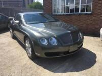 Bentley Continental GT 2005MY LHD left hand drive £3600 inspection service July