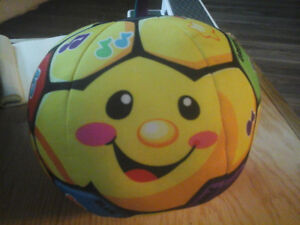 fsherprice laugh and learn singing soccer ball