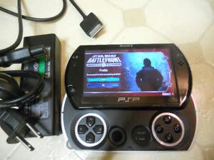 PSP go - Piano Black - mint condition