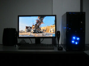 Selling/Parting Gaming PC Q6600 Quad/HD 7950 GPU/6GB RAM/DVD