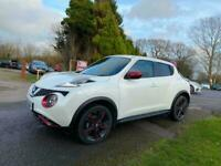 2016 Nissan Juke 1.2 DiG-T N-Connecta Petrol Manual Pearlescent White 5dr SAT NA