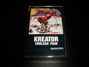 Kreator - Endless pain (1985) cassette audio Heavy metal