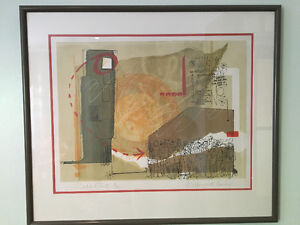 Anne Meredith Barry lithograph, small limited edition