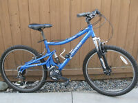 Mountain Bike with Suspention