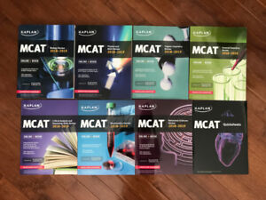 Kaplan MCAT Complete 7-Book Subject Review 2018 - 2019 + EK 101