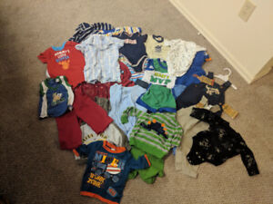 Assorted Boys Clothing 3-6 Months
