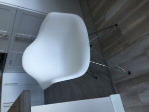 ***Modern White Chair*** -  unused, just like new.