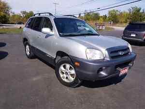 2006 Hyundai Santa fe  cert etested front wheel drive v6 145k