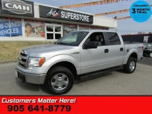 2013 Ford F-150 XLT  5.0L 4X4 CREW (NEW TIRES) BLUETOOTH ALLOYS