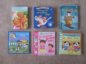 Assortment of French Children's Books.