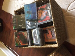 very large cd music collection over 175 cds