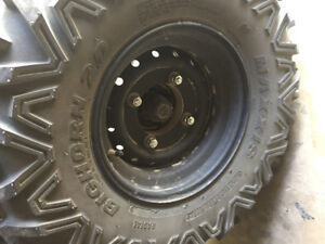 Side x side Stock tires/rims