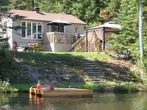 2 bedroom cottage/house on water
