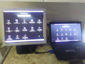 Computer monitor for sale 20 text 7785384448