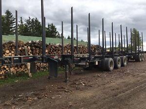 Remorque forestier B-train