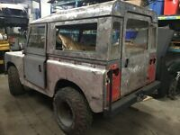 Land rover serie 2 projet